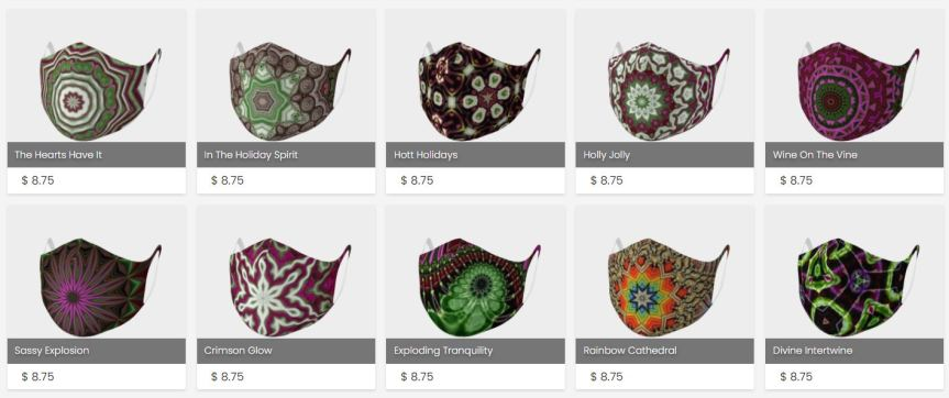 AOW Double Knit Face Covers are 15%off