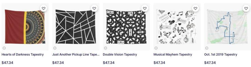 Redbubble tapestries Sale!